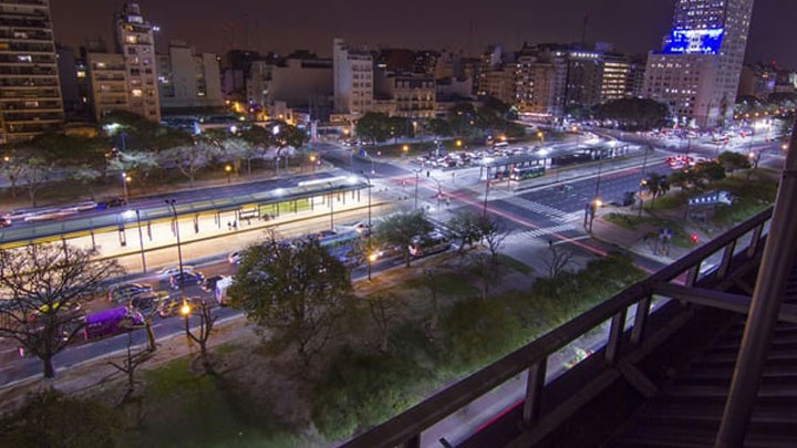 Future-proof city lighting in Buenos Aires