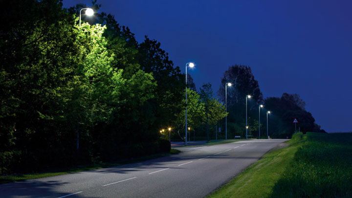 A well illuminated street in Holbaek – Improving Quality of life