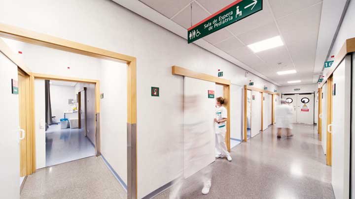 LED lighting at NISA hospitals
