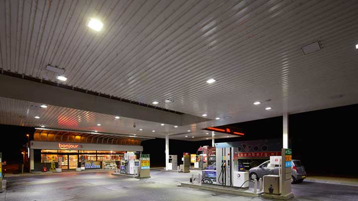 TOTAL Benelux –Petrol Station Lighting- Philips -4
