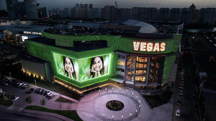 5Vegas Mall, Moscow, Time Square Project, shopping mall lightig, Philips Lighting-5
