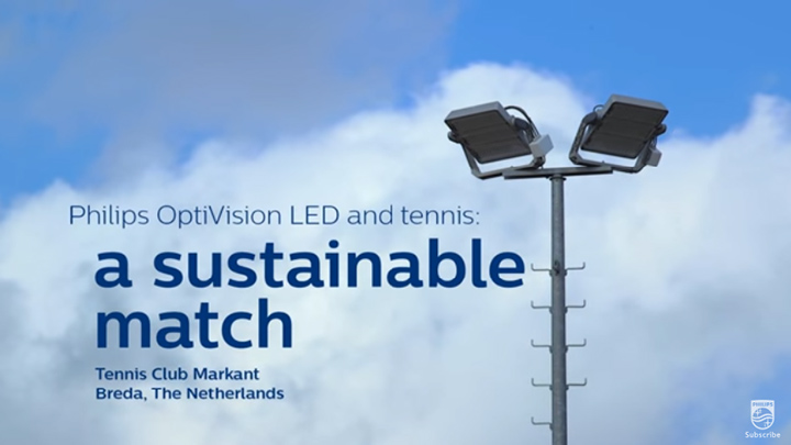 Philips OptiVision LED and tennis