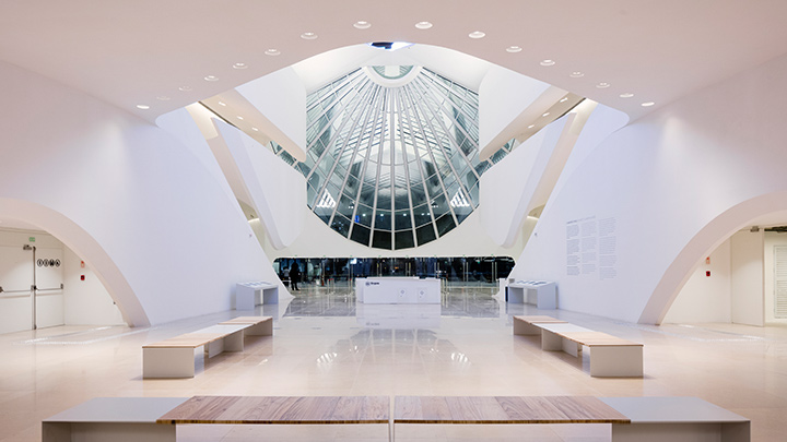 Philips lighting at Museu do Amanhã with Santiago Calatrava and Ldstudio