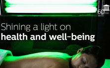 Shining light on health and well being