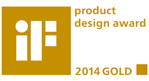 Penghargaan Product design gold 2014