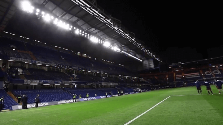 Led stadium floodlights @Stamford Bridge - Chelsea Football Club