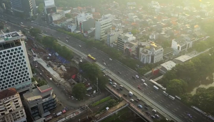 smart city initiatives Jakarta-lighting-video