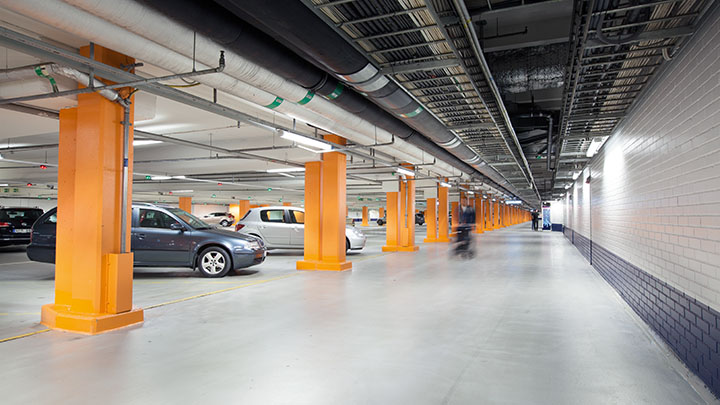 Philips Lighting's GreenParking car park lighting offers fast return on investment, saving energy and costs.
