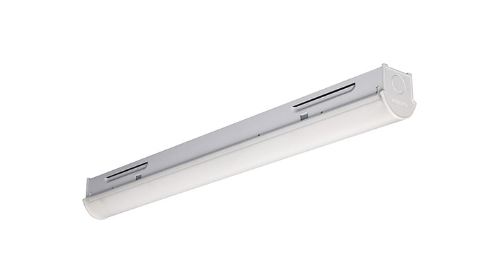 Philips Lighting's GreenPerform Highbay: energy efficient high bay lighting with high-rack LED optics