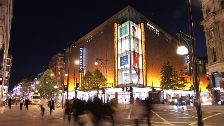 Debenhams Oxford Street Case Study
