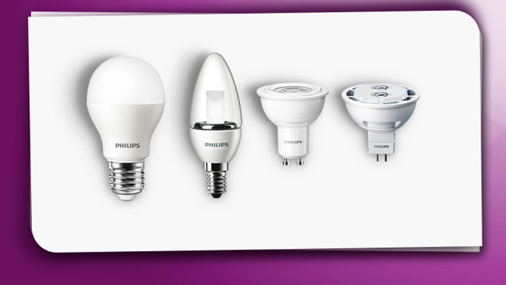 Light bulb cap types